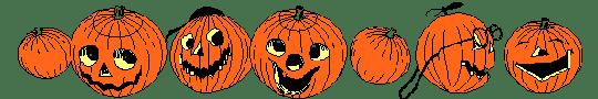 Resultado de imagen para separadores de halloween png