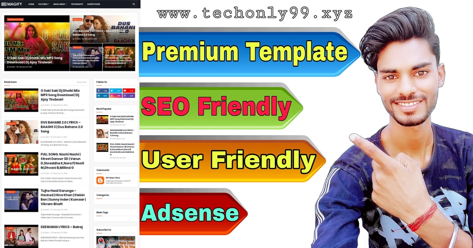 (Free) Best Top New Premium Blogger Templates 2020 – AdSense Responsive