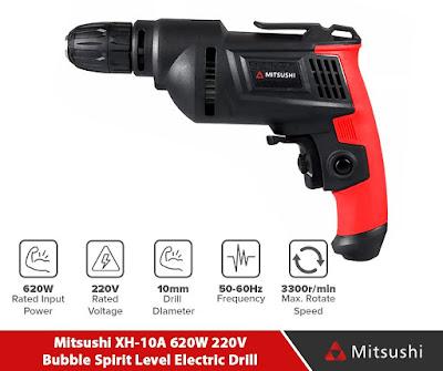 Mitsushi XH-10A 620W 220V Bubble Spirit Level Electric Drill