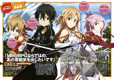 anime Sword Art Online