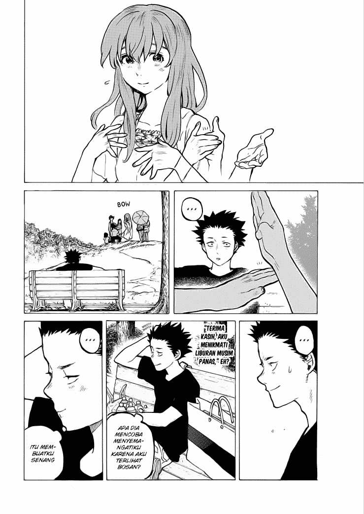 Koe no Katachi Chapter 37-5
