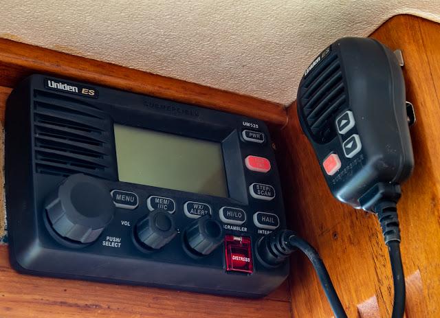 Photo of Ravensdale's fixed VHF radio