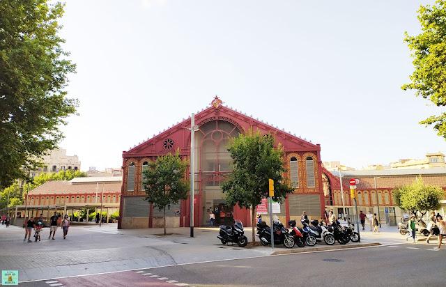 Barrio de Sant Antoni en el Eixample izquierdo, Barcelona
