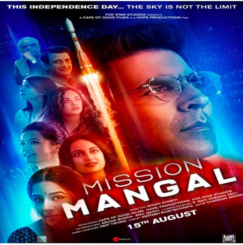 Mission Mangal Trailer Review: Akshay Kumar, Vidya Balan, Tapi Pannu and Sonakshi Sinha hit the first ball on the sixth ball, on August 15, the bumper opening confirmed