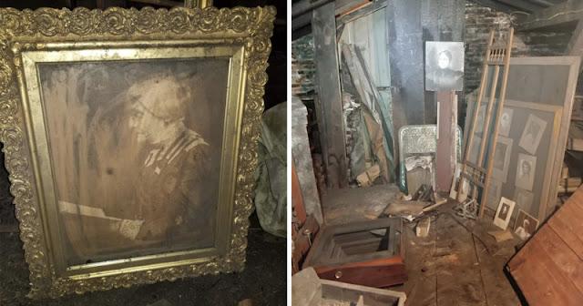 Ritrovato uno studio fotografico 'segreto' risalente a 100 anni fa