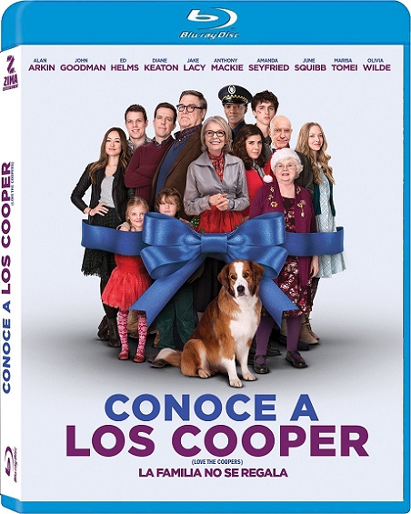 Love The Coopers (Navidad con los Cooper) (2015) 720p y 1080p BDRip mkv Dual Audio AC3 5.1 ch