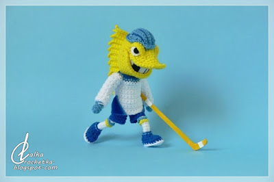 http://lalkacrochetka.blogspot.com/2019/06/toledo-walleye-hockey-team-mascot.html