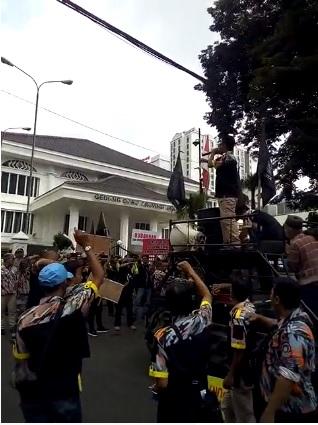GMBI Kembali Datangi DPRD Jabar, Pertanyakan  Aspirasi Yang Dilaporkan