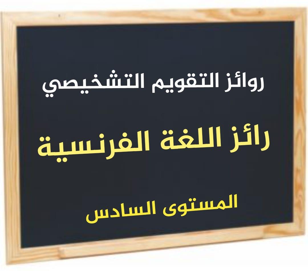 رائز التقويم التشخيصي اللغة العربية المستوى السادس 2021/2022