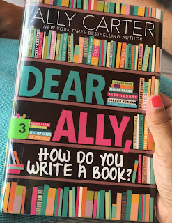 writing, book, picture of how do you write a book by ally carter