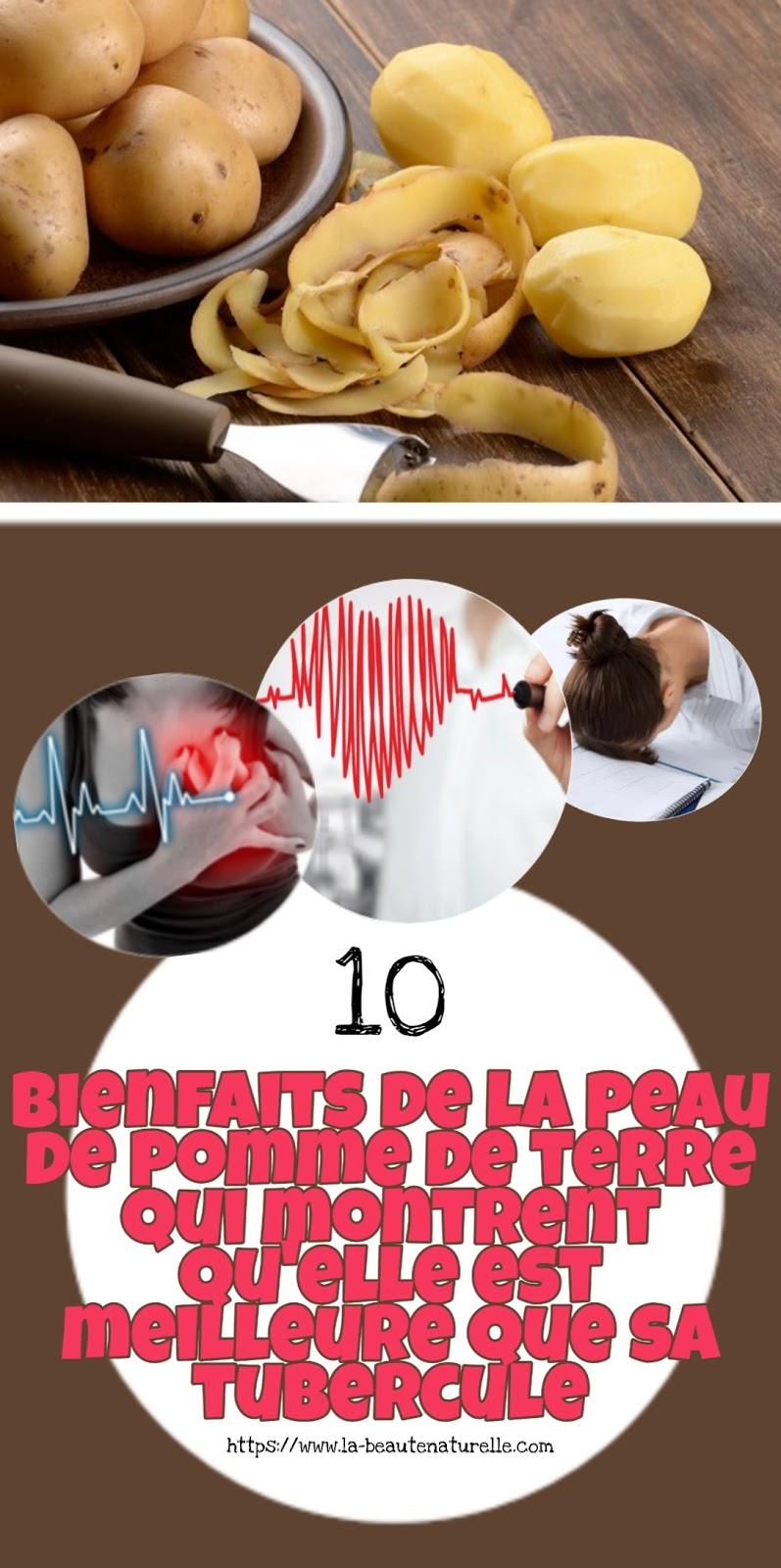10 bienfaits de la peau de pomme de terre qui montrent qu'elle est meilleure que sa tubercule