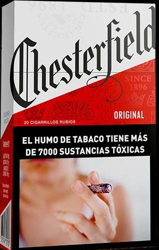 Pasion Por El Tabaco Chesterfield Original Box 20
