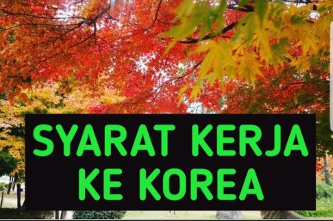 Pendaftaran Kerja Ke Korea Selatan Untuk Umum Dengan Sistem Poin Tahun 2019