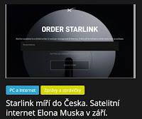 Starlink míří do Česka. Satelitní internet Elona Muska v září. - AzaNoviny