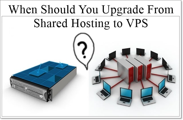 Upgrade From Shared Hosting to VPS