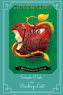 Sneak Peek at The Isle of the Lost by Melissa de la Cruz on Reading List