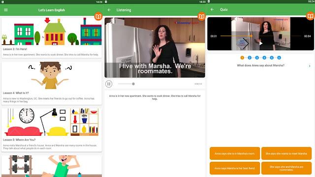 تنزيل تطبيق voa learning لتعلم اللغة الانجليزية للمبتدئين - Learning English speaking for beginners
