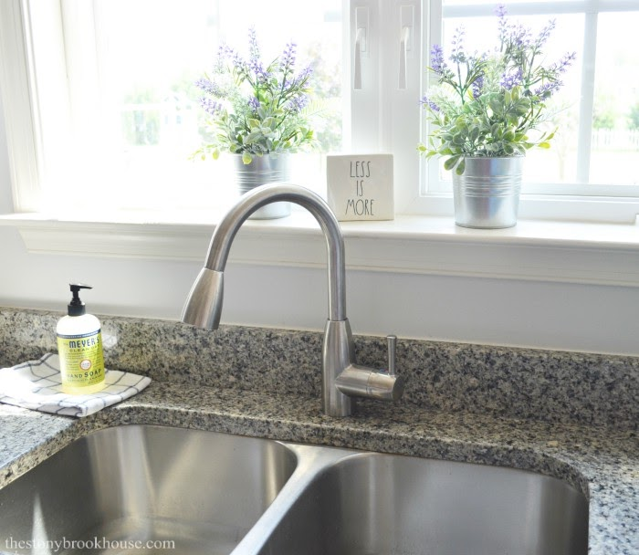 New Sink Faucet Replaced