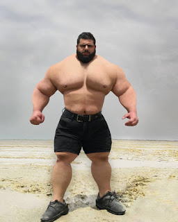 See Eye Popping Photo Of The 175 Kg 'Iranian Hulk' Who Volunteered To Fight