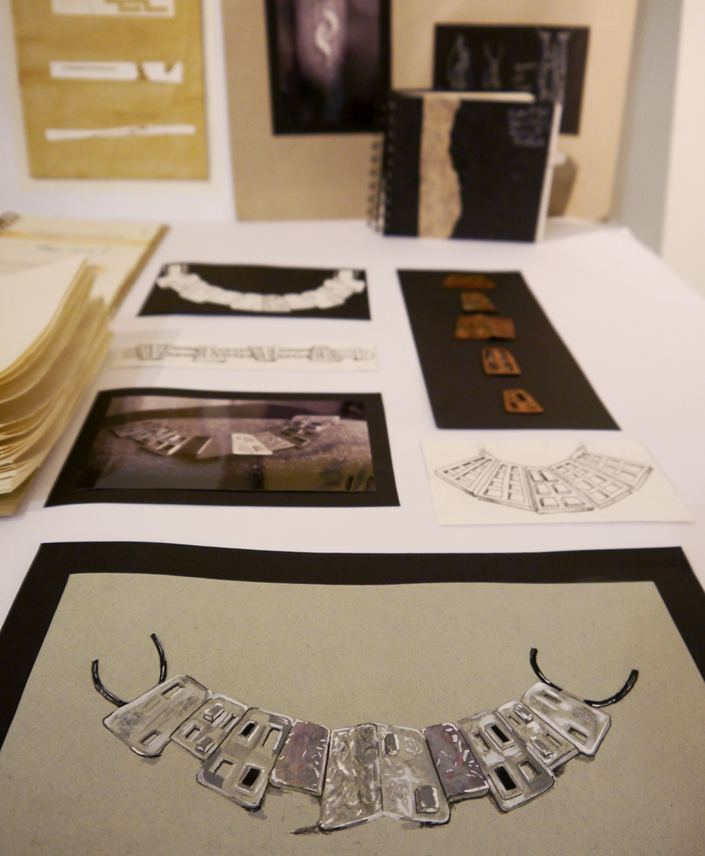 Genna Design, exhibition, jewellery exhibition, Dundee, Wasps Studios Dundee, Genna Delaney, jewellery design, independant design, Scottish design, Scottish jewellery designer, statement necklace, precious metal jewellery, contempoary jewellery design, small business, Q&A, interview