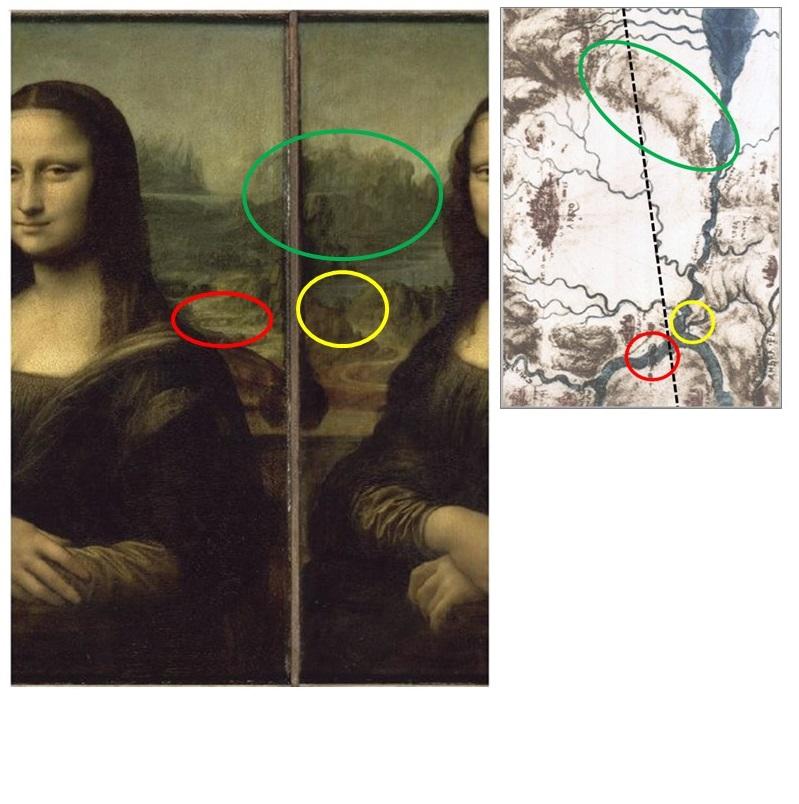 geoitaliani La Gioconda tecnica artistica e approccio