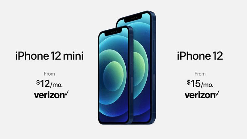 iPhone 12 mini and iPhone 12 price