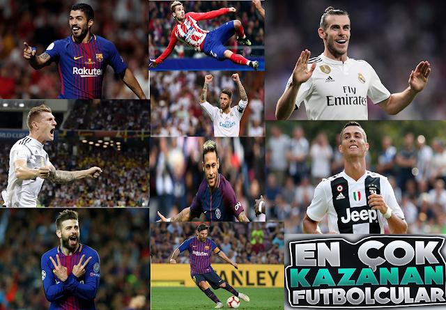 Dünyanın En Çok Kazanan Milyarder Denebilecek 10 Futbolcusu - Kurgu Gücü