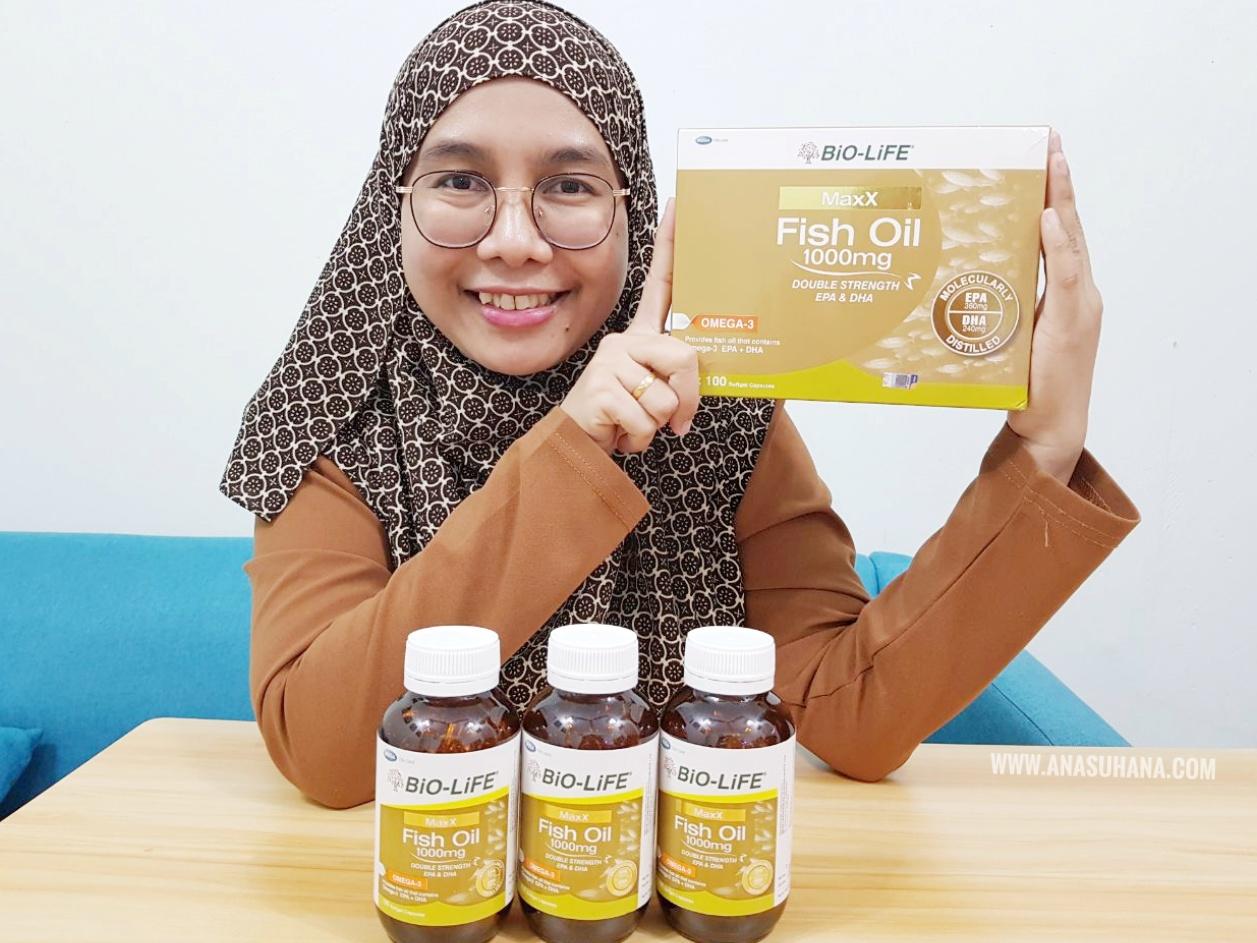 Bio-Life MaxX Fish Oil Dengan Dos Berganda Omega-3 EPA dan DHA