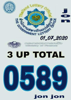 Thailand Lottery Digit Boss 3up Total Facebook Timeline 01 July 2020