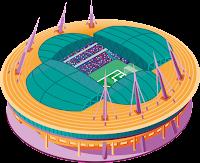 PES 2021 Stadium Gazprom Arena EURO 2020