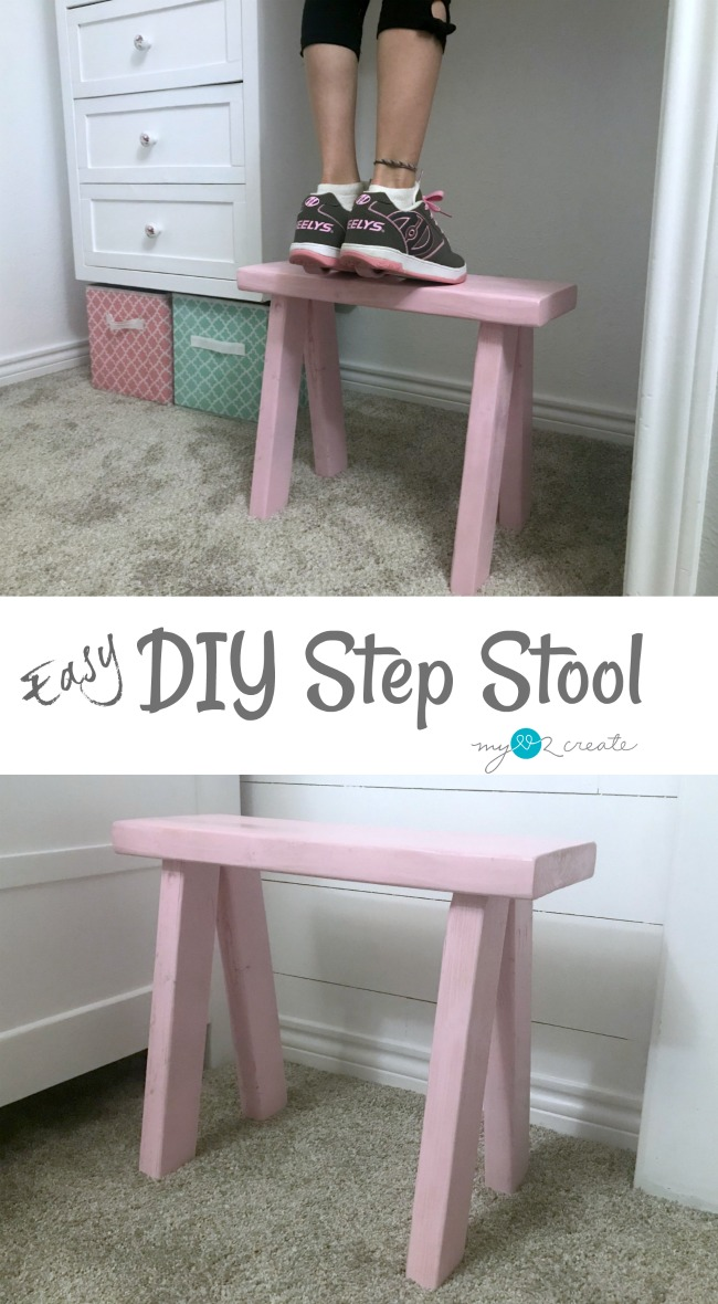 Easy to make DIY Step Stool