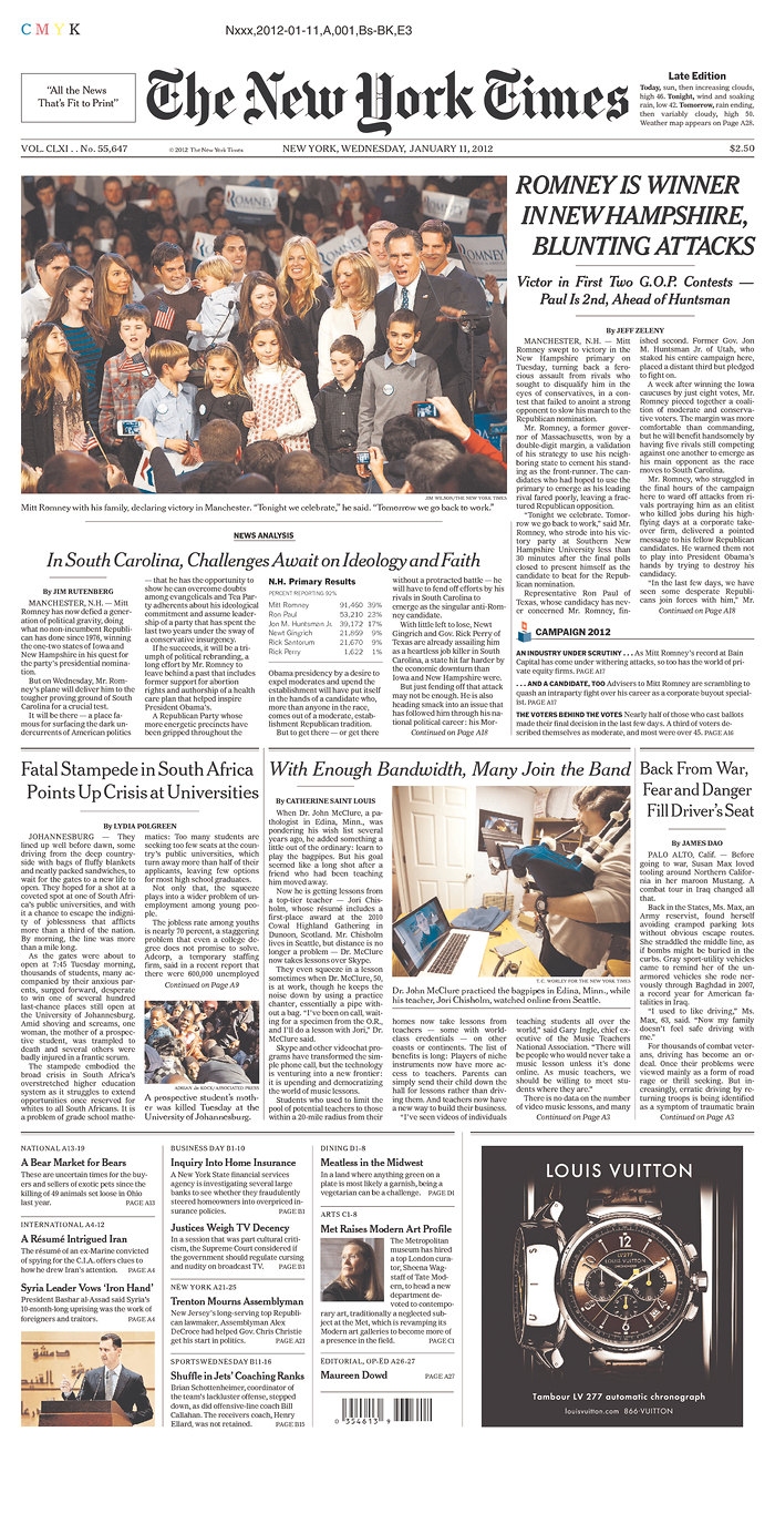 Front Pagenew York Times Design Of: BagpipeLessons.com Blog: BagpipeLessons.com On The Front