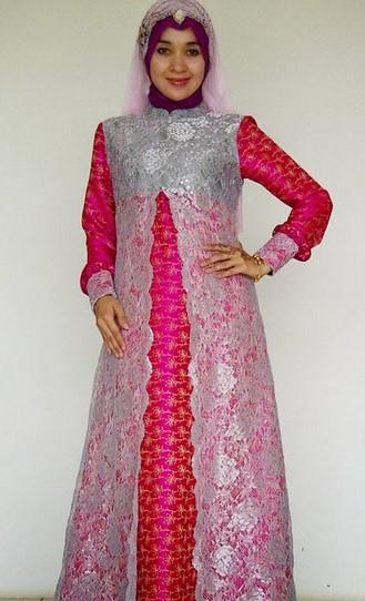 Model Baju Kebaya Gamis Untuk Orang Gemuk