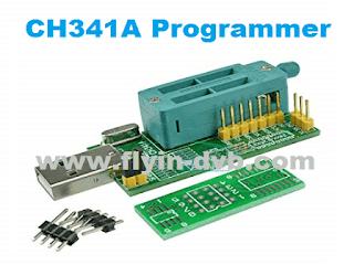 Cara Menggunakan CH341A Programmer