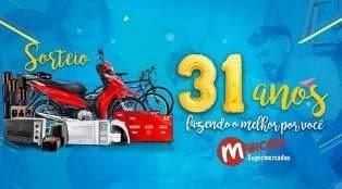 Promoção Marcon Supermercados 31 Anos Aniversário 2019 - Prêmios, Participar