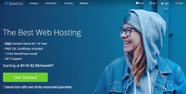 Bagian ini memberikan informasi terperinci untuk membantu Anda mendaftar ke akun hosting w Memulai blog di WordPress dengan Bluehost