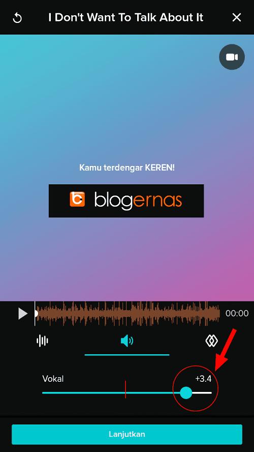 Cara Mengatur Volume Suara Vocal pd Smule Seimbang dg Musik
