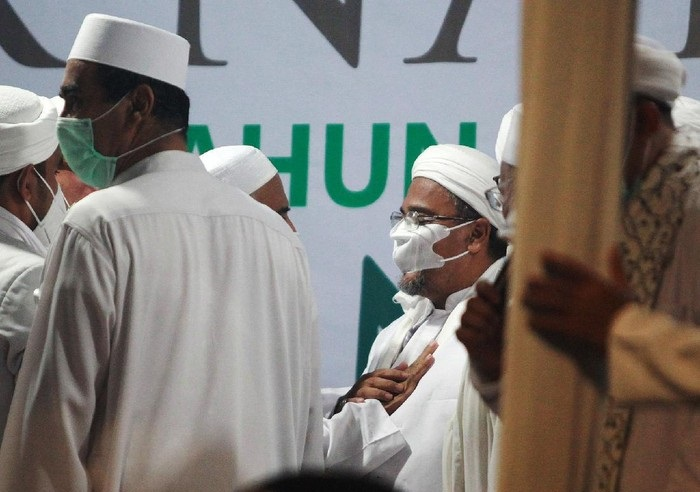 Habib Rizieq Shihab Berontak saat Dipaksa Ikut Sidang Virtual