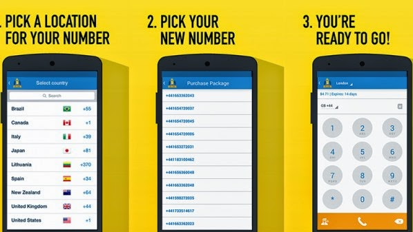 Quickly & easily get new private phone numbers - keep your personal number hidden for free