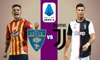 Pertandingan Juventus vs Lecce