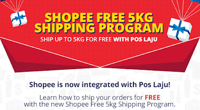 Cara Apply Free Shipping Program Untuk Peniaga Di Shopee Nia Izzati