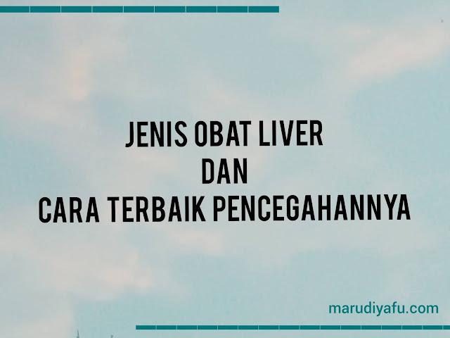 Jenis Obat Liver dan Cara Terbaik Pencegahannya