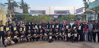 Rt 23 Kelurahan Thehok Kecamatan Jambi Selatan Kota Jambi Gelar Kejuaraan Bola Voli Memperebutkan Piala Fasha Cup Ke-1.
