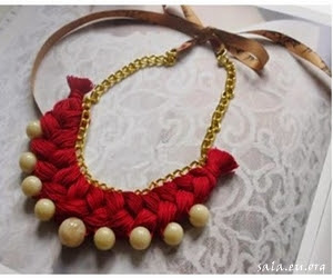 How To Make Craft Necklace Accessories From Simple Goods