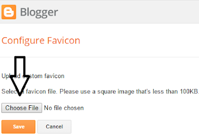 How To Add Favicon To Blogger?