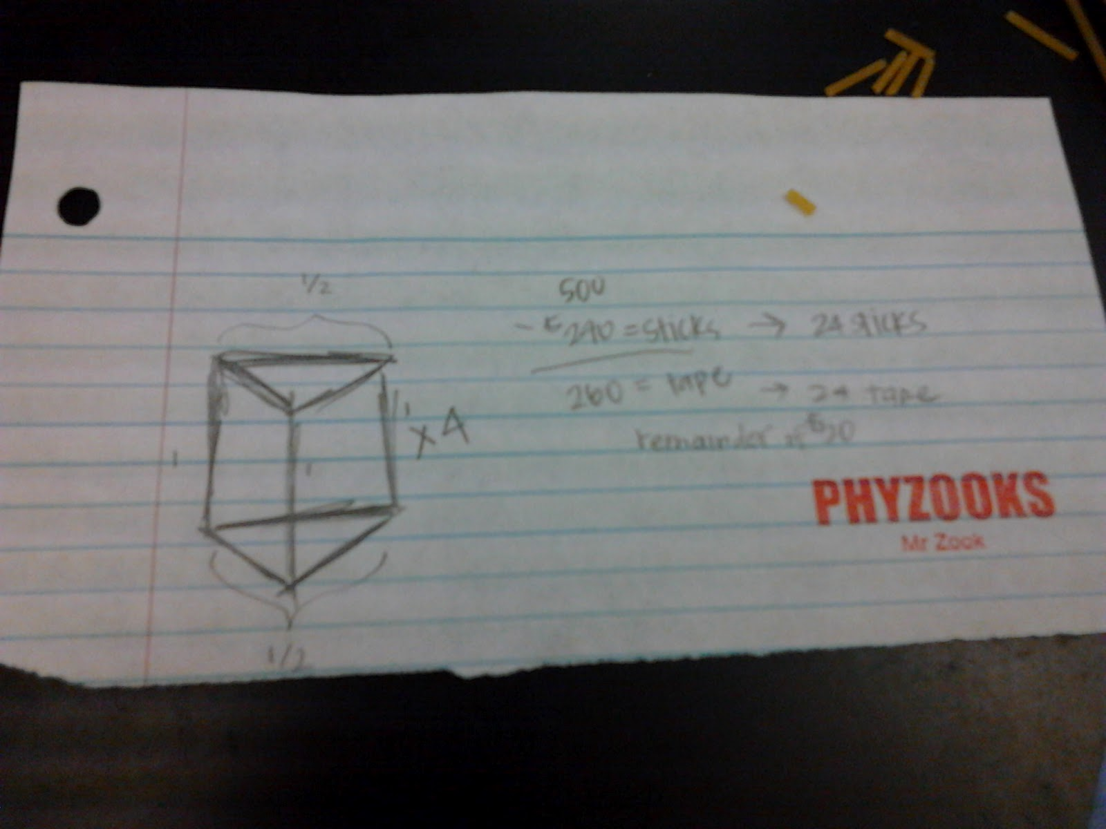 Richelle S Blog Ap Physics Spaghetti Tower Updated