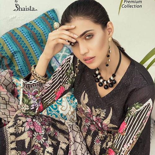 Chikankari Premium Collection By Shaista 2019