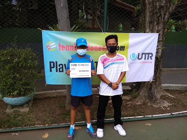 Dan' Ibrahim Dhuha Juara Turnamen Tenis Yunior di Banyuwangi