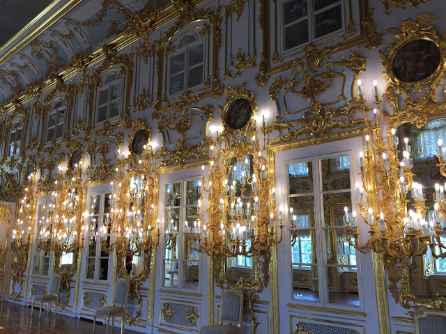 DAY THREE IN ST PETERSBURG, A TRIP TO PETERHOF PALACE