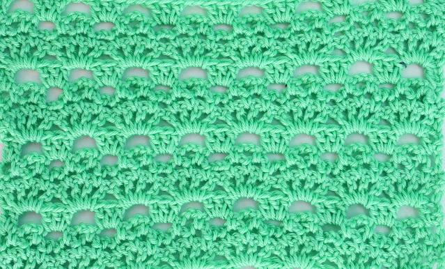 2 -Crochet Imagenes Puntada de abanicos y cadenas a crochet y ganchillo por Majovel Crochet